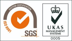 ISO UKAS SGS Logo Gabriel